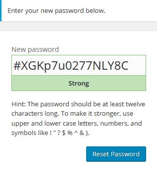 Enter new Password sshot1