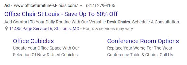 Paid Google ads