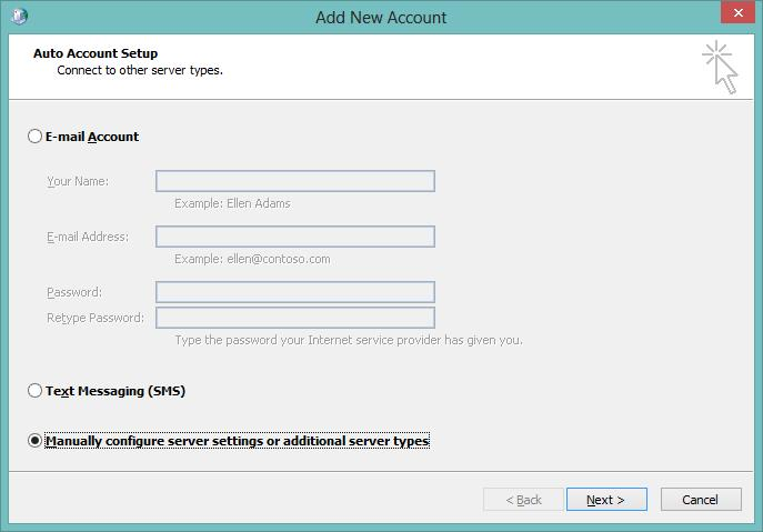 how to find imap server for outlook