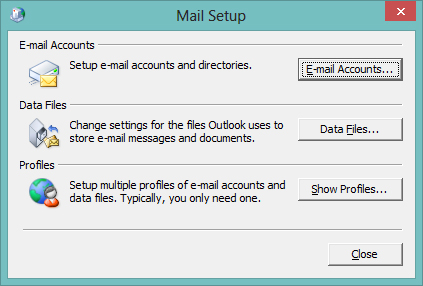 Outlook Mail Setup