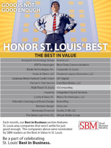 Best in Value St. Louis website design company