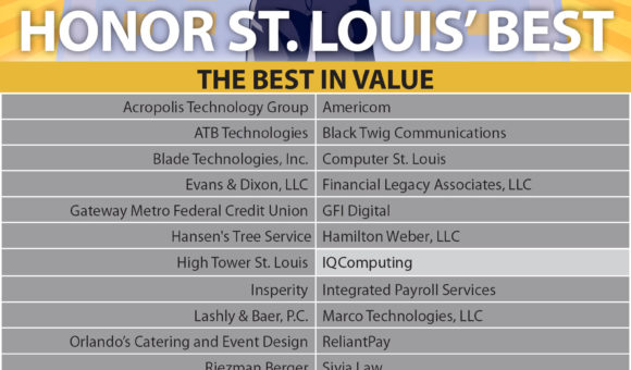 2018 St Louis Best in Value St. Louis Website Design company
