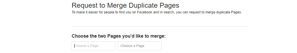 How to merge 2 Facebook Business Pages