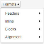 wordpress-formats-menu