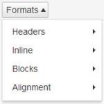 wordpress-formats-menu