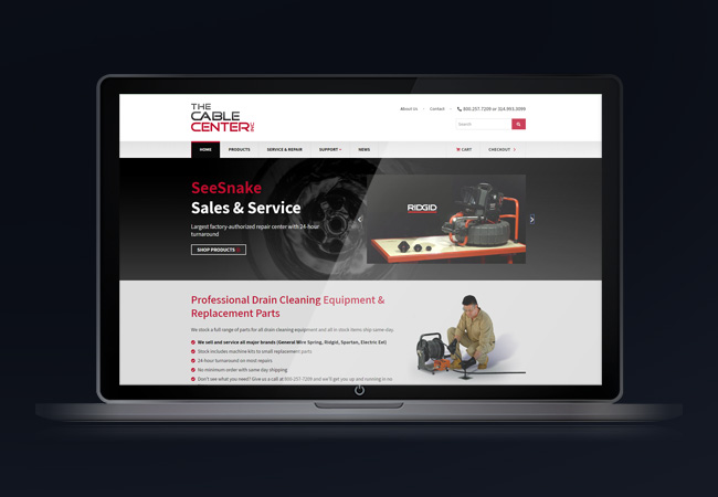 best-responsive-cable-equipment-website-design