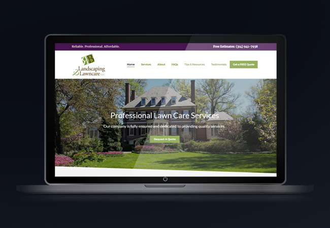 st-louis-professional-lawn-care-website-design