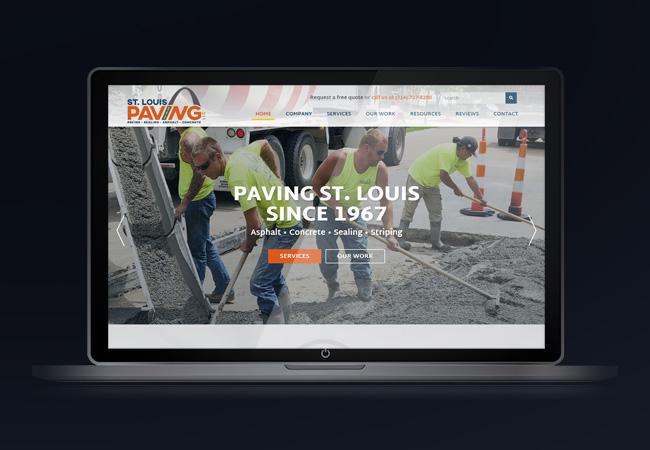 paving-road-repair-st-louis-website-design